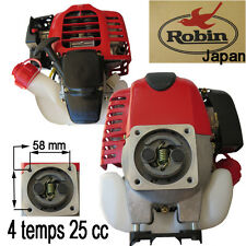 Moteur ROBIN 4 Temps 25 cc s adapte : mitsubishi debroussailleuse stihl kawasaki