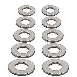 "10x SAE Flat Washers Fit 3/4"" Bolt  1-15/32"" OD Zinc Plated Steel _237-02"