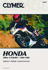Clymer Repair Service Shop Manual Vintage Honda VF500 Magna 84-86 VF500 F 84-86