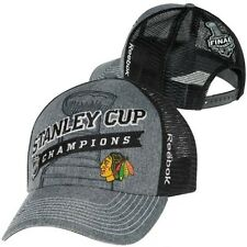 Reebok Chicago Blackhawks 2013 NHL Stanley Cup Champions Locker Room Hat Cap NEW