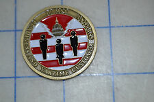 military challenge coin 11mss wartime customer support the chiefs own