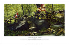 Battle for Little Round Top - Chamberlain & 20th Maine