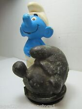*RARE* Original SMURF Toy Head Mold old manufacturing plant piece hard to find