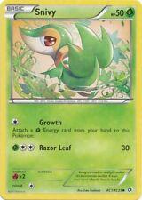 Snivy RC1 B&W Legendary Treasures Common MINT! Pokemon