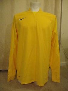 Nike Goalkeeper Football Shirt in Yellow (XL)