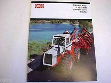 Case 2470 4WD Traction King Tractor Brochure 1973 24 Pages Excellent Condition