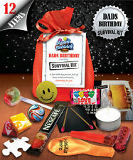 Dads Birthday Survival Kit - Fun Novelty Gift