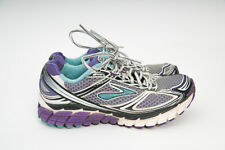 Brooks Ghost 5 Blk/Wht/Teal/Purple Running Shoes 1201131B532 Women's 6.5 EU 37.5
