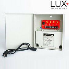 Lux Technologies Cctv power supply 12vdc, 4 outputs, 5amp