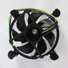 Aluminum CPU Quiet Cooler Heatsink Dual Fan For Intel LGA 1155/775 AM2 AM3 AMD
