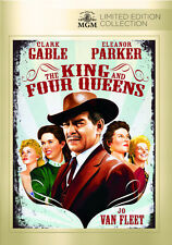 The King and Four Queens 1956 (DVD) Clark Gable, Eleanor Parker - New!