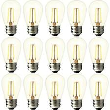 Halco 81139 2W 2700K Base Clear Filament S14 LED Vintage Filament Lamp 20989