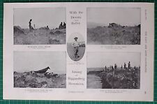 1900 BOER WAR ERA CAPTAIN P VIGORS 2nd DEVONS BULLER HELIOGRAPH BIGGARSBERG
