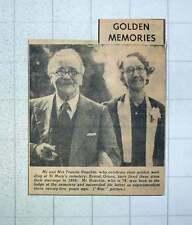 1949 Mr And Mrs Francis Houchin Golden Wedding Kensal Green