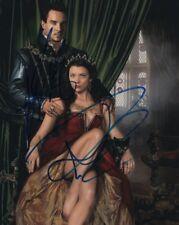 JONATHAN RHYS MEYERS & NATALIE DORMER Signed Autographed THE TUDORS Photo