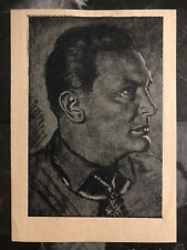 Mint WW 2 Germany Waffen SS Postcard Anti Stalin Worthless Imprint Luftwaffe RM