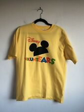 NEW Disney Voluntears Cast Member ABC ESPN Volunteers White Tee Tshirt Size L