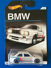 2016 Hot Wheels 100 YEARS OF BMW - 1992 BMW M3 race car - mint on long card!