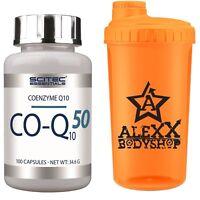 Scitec Nutrition Co-Q10 50 100 Kaps. 50mg Q-Sorb™ Coenzym Q10 ATP - 100 Tage