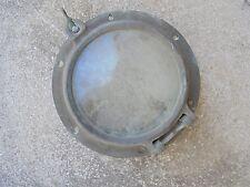 """9"""" Od Inch Bronze Porthole Port Ship Boat Brass Man Cave 1 Wing Nut"""