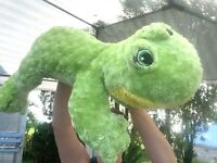 "HUGE Dan Dee Floppy Laying Frog 29"" SUPER SOFT Plush Stuffed Animal Toy"