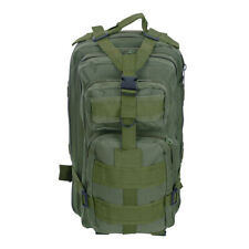 Army Green 30L Military Molle Camping Backpack Tactical Hiking Sports Travel Bag