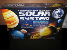 3-Dimensional Glow-In-The-Dark Solar System Model Making Kit