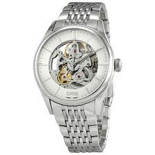 Oris Artelier Skeleton Dial Automatic Mens Steel Watch 01 734 7721 4051-07 8 21