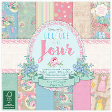 "COUTURE DU JOUR - Taster Pack of 6""x6"" Papers - Dovecraft"