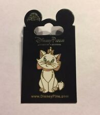 Disney Trading Pin 2010 Aristocats MARIE White Cat - New on Card