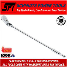 "GEARWRENCH 81363 1/2"" DRIVE LONG LOCKING FLEX HEAD RATCHET 600mm 24"" FULL POLISH"