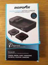 Digipower TC-5000U Universal CAMERA Battery Charger - Black