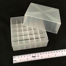 36 luogo ALTEZZA REGOLABILE Storage Box per tubi 1 provetta Rack caso 20mm