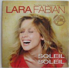 "LARA FABIAN - CD SINGLE PROMO ""SOLEIL SOLEIL"""