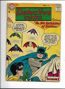 "Detective 244 VG (4.0) 6/57 ""The 100 Batarangs of Batman!"""