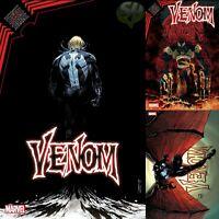 Venom 34 3 book set 4/7/21 Cover A, Stegman, Superlog Variants FREE SHIPPING