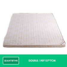 Memory Foam Mattress Topper 7cm Underlay Cover Queen Double Single Sleep Bed Double