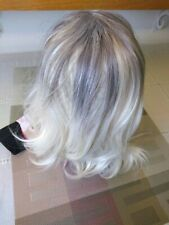 New fashion wig sexy woman lady girl short wig white and grey wig. Very soft.