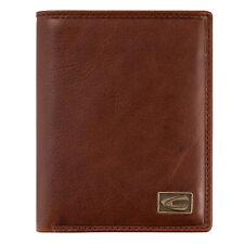 Camel active Leather Wallet Cognac-Brown Vertical Format Japan 276-703-22