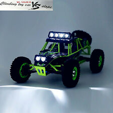 WLtoys 12428 Off-road Rock Crawler 1/12 Scale 2.4G RC Car Climber RTR USB Gift