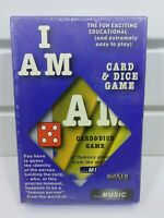 "I Am ""Music"" Card and Dice Game by Boxer 2006 Brand New Sealed"