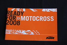 Booklett KTM Motocross Team 2008 (HW)