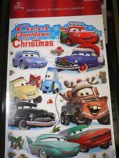 Cars~LiGhTeNiNg McQuEen~Countdown 2 Christmas~Advent Card~Nwt~Disney~HaLlmark