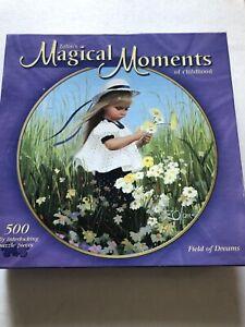 Donald Zolan Milton Bradley Magical Moments 500 Piece Puzzle Field Of Dreams...