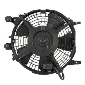 New A/C Condenser Cooling Fan Motor Assembly for 93-97 Toyota Corolla Geo Prizm