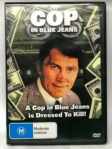 The Cop in Blue Jeans - DVD - AusPost with Tracking
