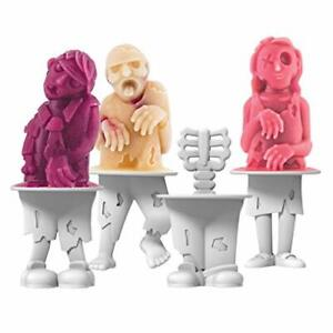 Tovolo Zombies Pop Molds - Set of 4