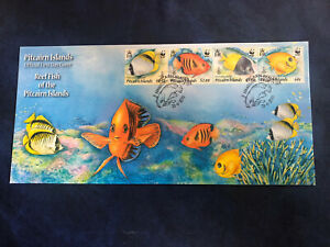 Pitcairn Islands 2010, FDC, Excellent Condition, Reef Fish