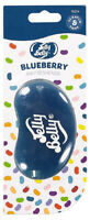 15214 Jelly Belly BLUEBERRY 3D Bean Air Freshener Car (x1) Hanging Gel Type