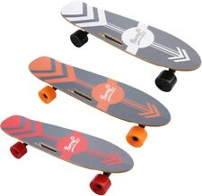 Skateboard Electrique 350W Télécommande 3 Vitesses 20 KM/H Batterie Au Lithium